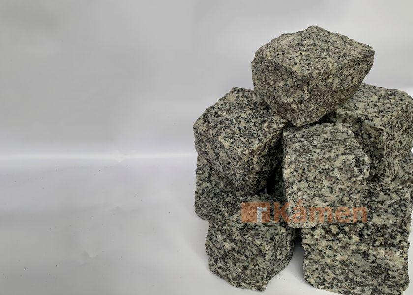Žulové kostky 6x8 šedé