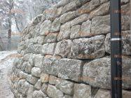opěrná zeď na sucho