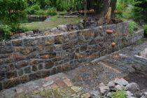 oprava opěrné zdi