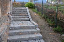žulové schodiště