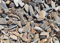 Mulčovací kůra z kamene